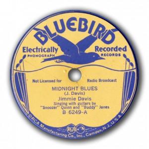 A Jimmie Davis recording featuring Snoozer Quinn