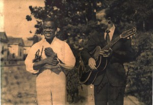 Louis Armstrong and Snoozer Quinn