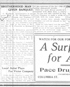 Bogalusa Daily News p. 3 Feb. 26, 1928